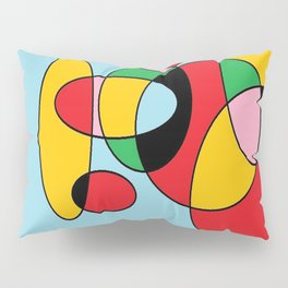 Circulos mult color Pillow Sham