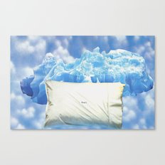 To Get to the Cool Side Canvas Print