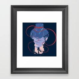 Unmei no akai ito Framed Art Print
