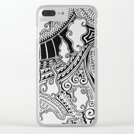 Wild clouds and things Clear iPhone Case