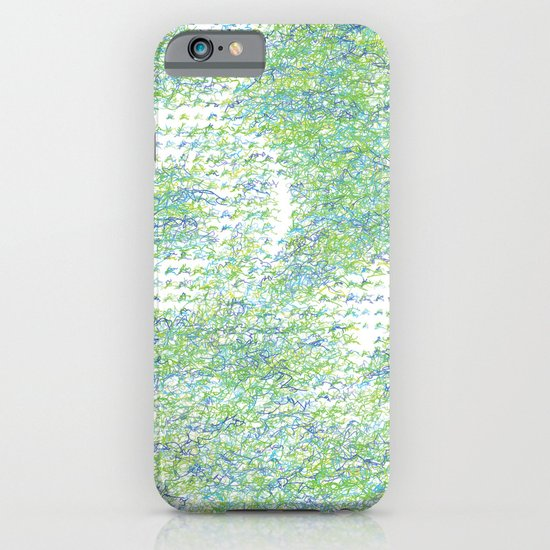 Peacock Feathers Doodle iPhone & iPod Case