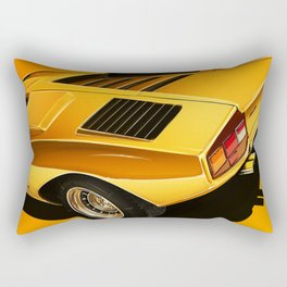1974 Lamborghini Countach LP400 Rectangular Pillow