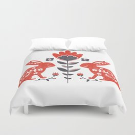 Forest Folk Duvet Cover