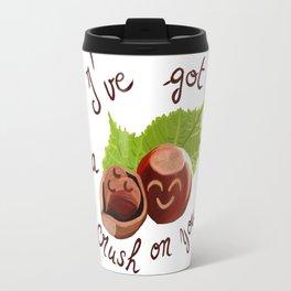 A crush on you / Je craque pour toi ! Travel Mug