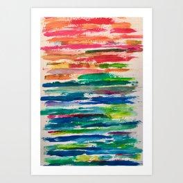 Not a Rainbow Art Print