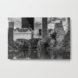 The Grand View of Central Park South New York City 2019 Metal Print
