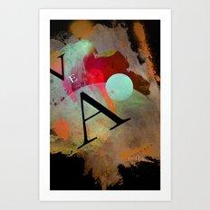 VEA 18 Art Print