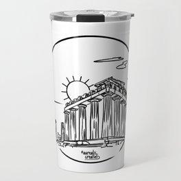 Parthenon, Greece Travel Mug