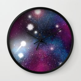 In A Galaxy, Far Far Away Wall Clock