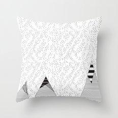 Mountain HD Throw Pillow