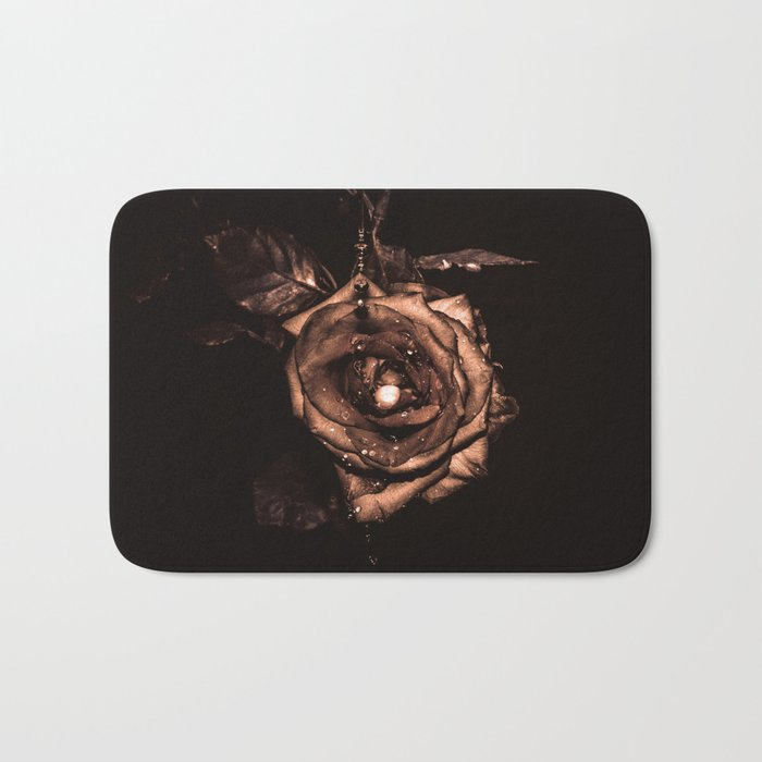 (he called me) the Wild rose Bath Mat
