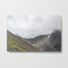 Ben Nevis Mountain Ridge Metal Print