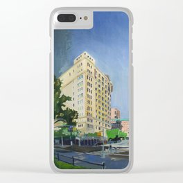 Riverside Dr & W 116th St Clear iPhone Case