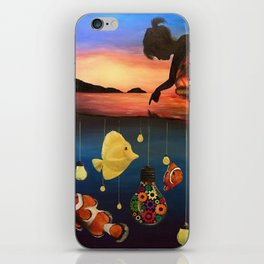 A Dreamers Dream iPhone Skin