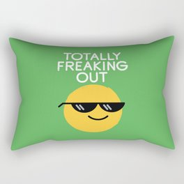 Froze Colored Glasses Rectangular Pillow