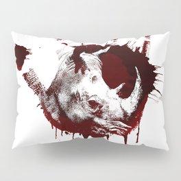 Conflict of Rhino Pillow Sham