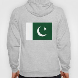 The National Flag of Pakistan - Authentic Version Hoody