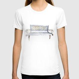 garden bench T-shirt