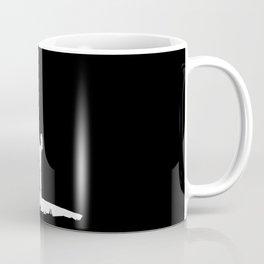 Full Black Death Coffee Mug