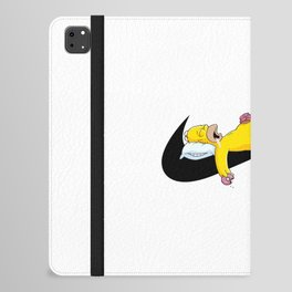 Sleeping Donut Funny Hypebeast  iPad Folio Case