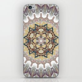 Cosmic Reflection Mandala iPhone Skin