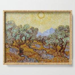 Vincent van Gogh - Olive Trees (1889) Serving Tray