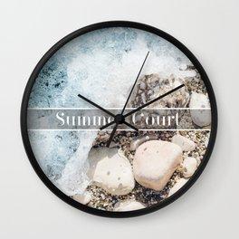Summer Court Wall Clock