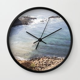 California the Beautiful Wall Clock
