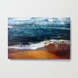 Ocean Swells Metal Print