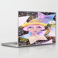 sassy Laptop & iPad Skins featuring Sassy Girl by Judy Skowron