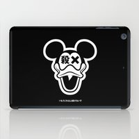 mickey iPad Cases featuring Mickey Duck by cmyka