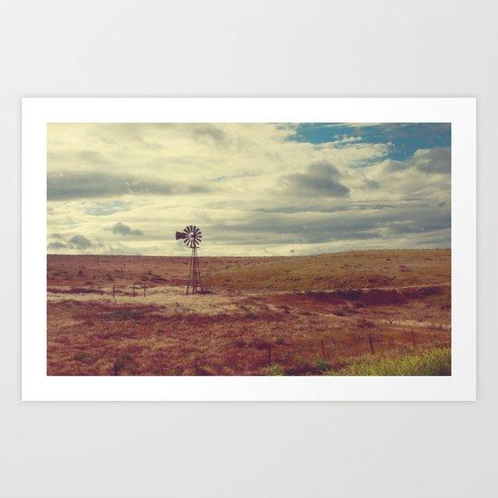 The Western Plains Art Print