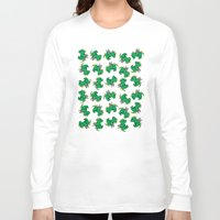 dragons Long Sleeve T-shirts featuring Dragons by Daizy Jain