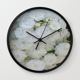 Deutzia Pure and Simple Wall Clock