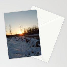 Winter Sunset - I Stationery Cards