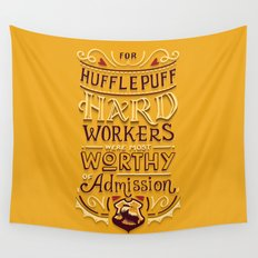 Hard Workers Wall Tapestry