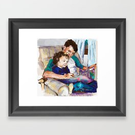 Princess in the making Framed Art Print