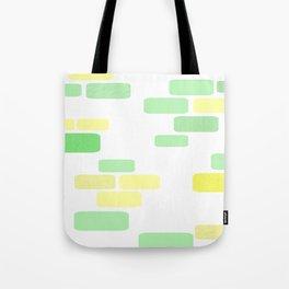 Exposed [pastel] Brick Tote Bag