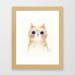 Cognac the Cat Framed Art Print