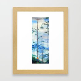 Kidnapped .....Alone in this stunning capsulle Framed Art Print