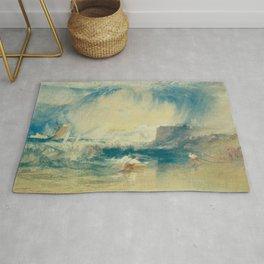 """J.M.W. Turner """"Lyme Regis"""" Rug"""