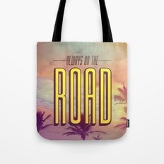 Always On The Road Tote Bag