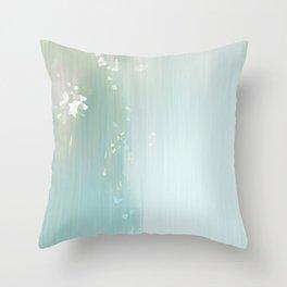 Crystal Falls Throw Pillow
