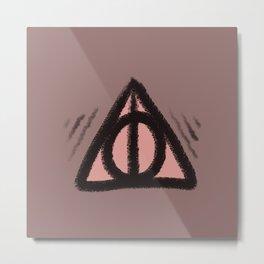 hallows symbol Metal Print