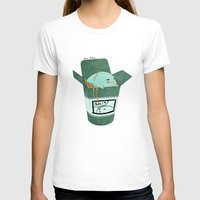 pasta T-shirts featuring Pasta Pudding by Luna Aldrin