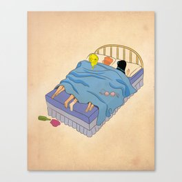 Untitled (the lost digest) Canvas Print