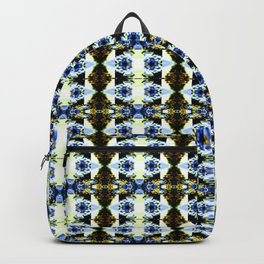 Abstract Kaleidoscope Funky Seamless Pattern Backpack