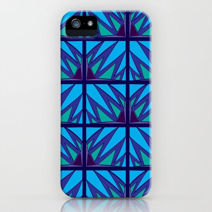 Decorative Purple Points iPhone Case