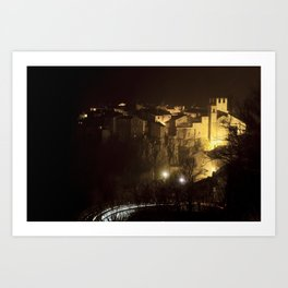 Calcata (Italy) Art Print