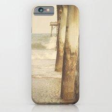 Fishing Pier Surf City Beach Topsail Island NC Lomo Vintage iPhone 6s Slim Case